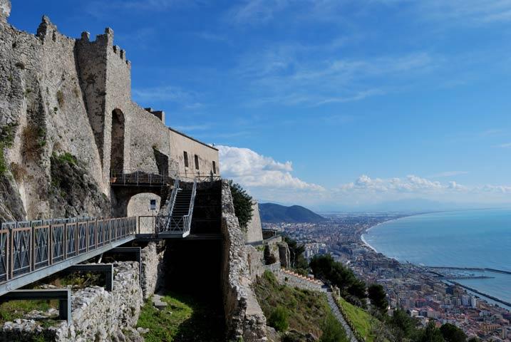 Castello medievale di arechi castle salerno campania weddings and