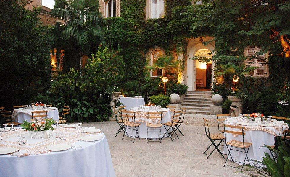 VILLA GIULIA EVENTS - Villa Roma Lazio | Matrimoni e ricevimenti