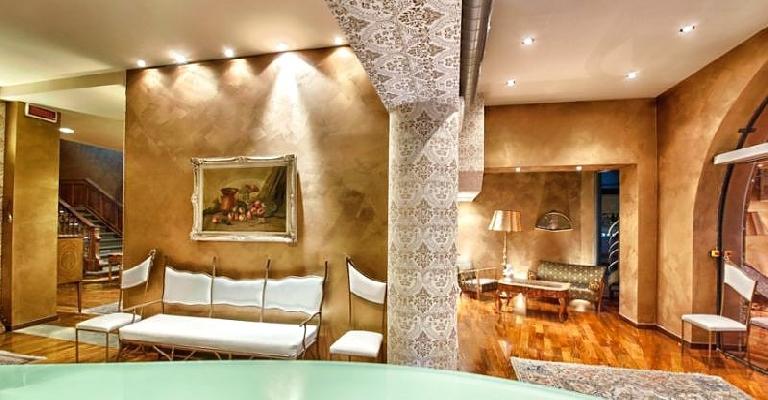 Alberghi di lusso in italia - Pittura particolare ...