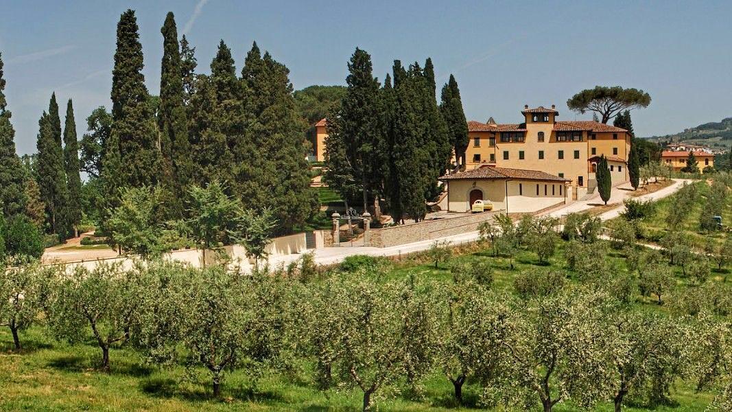 Fattoria di calappiano residenza d 39 epoca vinci firenze for Piani di fattoria del vermont
