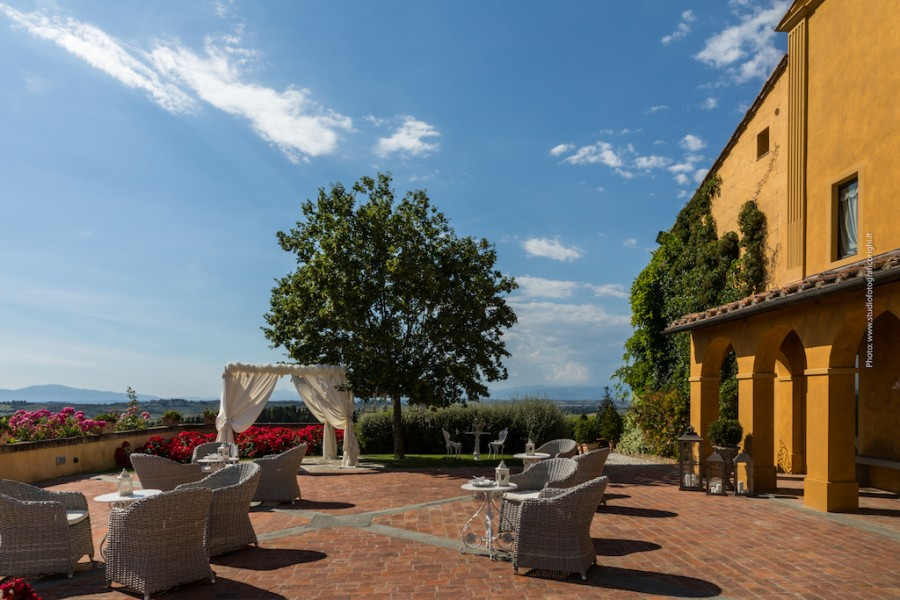 Ricevimenti Matrimoni Toscana : Villa il petriccio montespertoli firenze toscana