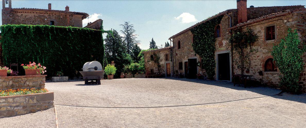 Borgo Castelvecchi Medieval Castle Castelvecchi Radda