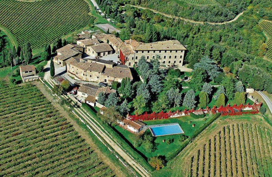 Posti Matrimonio Toscana : Borgo castelvecchi medievale radda