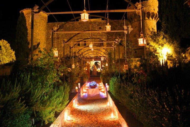 Matrimonio Vista Mare Toscana : Castello di meleto gaiole in chianti siena