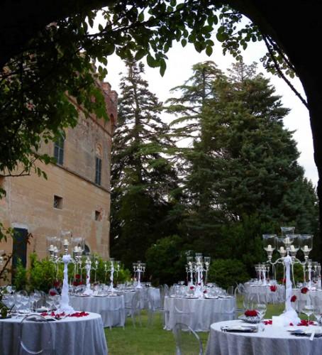 Matrimoni Vip Toscana : Castelnuovo grilli castello asciano